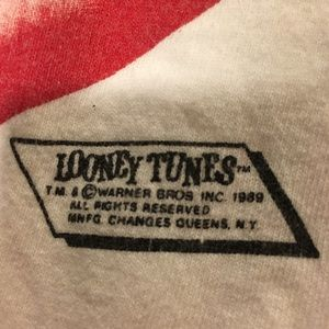Changes Shirts - VINTAGE 1989 LOONEY TUNES FRONT/BACK TEE